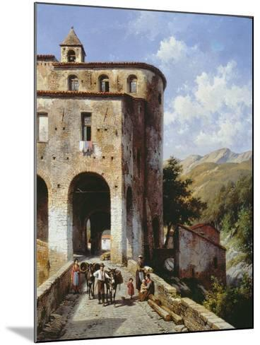 Church of San Spirito-Jacques Carabain-Mounted Giclee Print