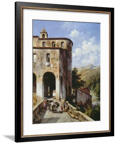 Church of San Spirito-Jacques Carabain-Framed Art Print