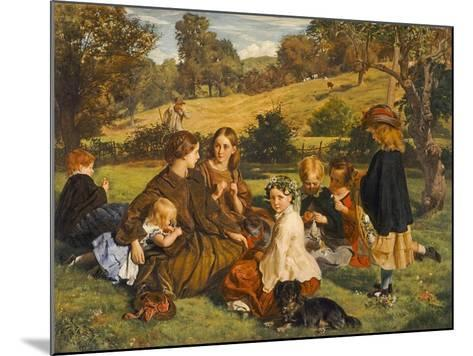 Summertime, Gloucestershire, Exh.1860-James Archer-Mounted Giclee Print