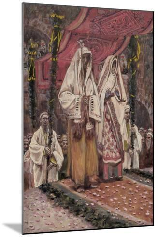Betrothal of the Holy Virgin and Saint Joseph-James Jacques Joseph Tissot-Mounted Giclee Print