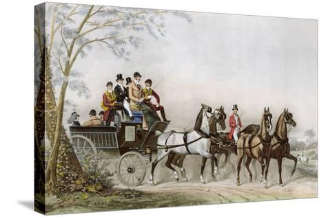 The Travel-James Barenger-Stretched Canvas Print