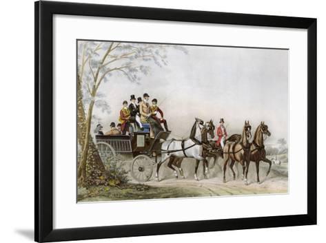The Travel-James Barenger-Framed Art Print