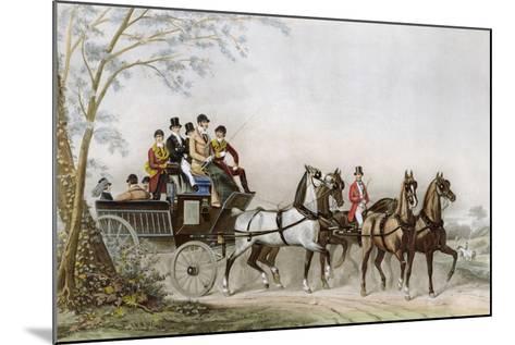 The Travel-James Barenger-Mounted Giclee Print