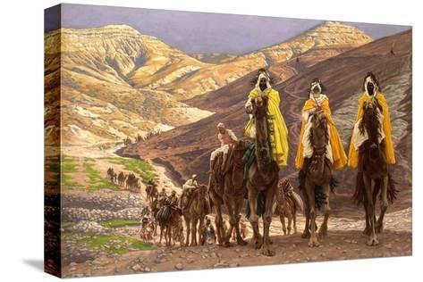 Journey of the Magi, C.1894-James Jacques Joseph Tissot-Stretched Canvas Print