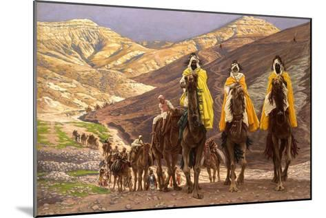 Journey of the Magi, C.1894-James Jacques Joseph Tissot-Mounted Giclee Print