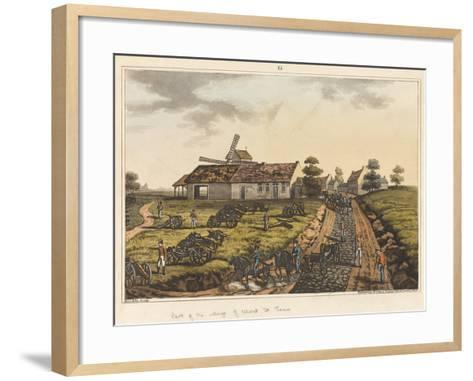 Part of the Village of Mont St Jean-James Rouse-Framed Art Print