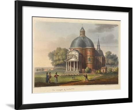 The Chapel at Waterloo-James Rouse-Framed Art Print
