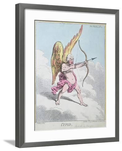 Cupid, Published by Hannah Humphrey in 1799-James Gillray-Framed Art Print