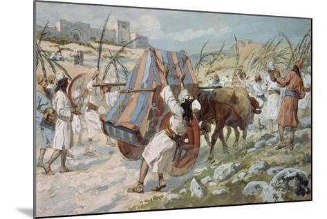The Chastisement of Uzzah-James Jacques Joseph Tissot-Mounted Giclee Print