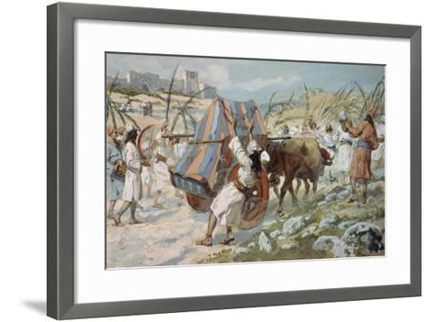 The Chastisement of Uzzah-James Jacques Joseph Tissot-Framed Art Print