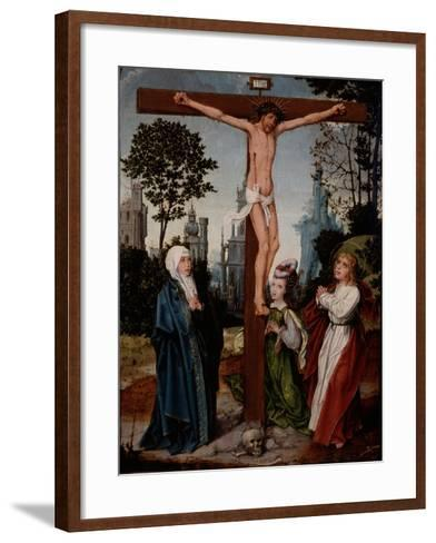 Crucifixion, C.1510-15-Jan Provoost-Framed Art Print