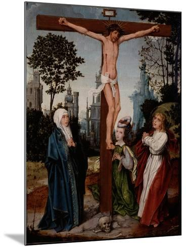 Crucifixion, C.1510-15-Jan Provoost-Mounted Giclee Print