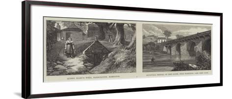 Sketches of Hamilton-James Burrell Smith-Framed Art Print
