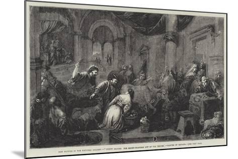 Christ Driving the Money-Changers Out of the Temple-Jacopo Bassano-Mounted Giclee Print