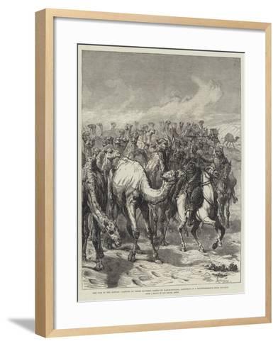 The War in the Soudan-Johann Nepomuk Schonberg-Framed Art Print