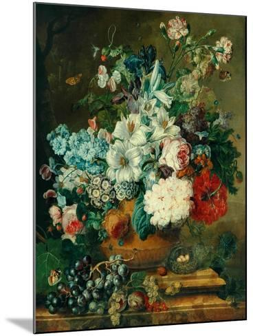 Flowerpiece, 1806-Johannes Lindhorst-Mounted Giclee Print