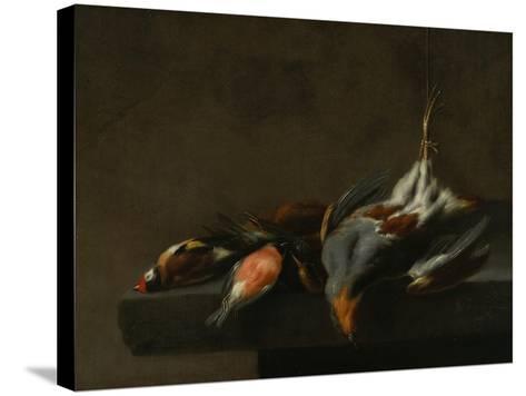 Still Life of Dead Birds, C.1660-Jan Vonck-Stretched Canvas Print