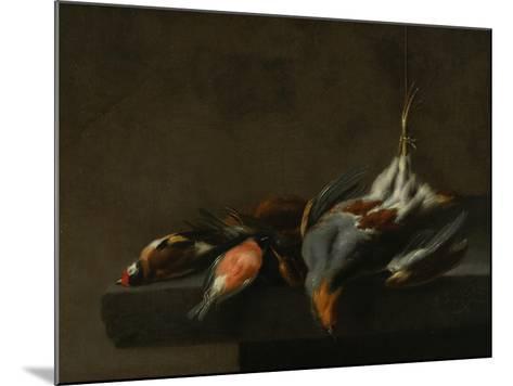 Still Life of Dead Birds, C.1660-Jan Vonck-Mounted Giclee Print