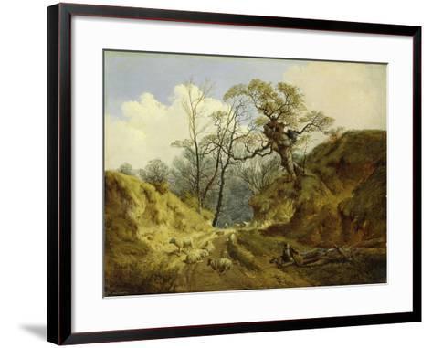 Crown Point, Whitlingham, Near Norwich, 1855-John Berney Ladbrooke-Framed Art Print