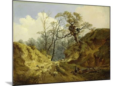Crown Point, Whitlingham, Near Norwich, 1855-John Berney Ladbrooke-Mounted Giclee Print