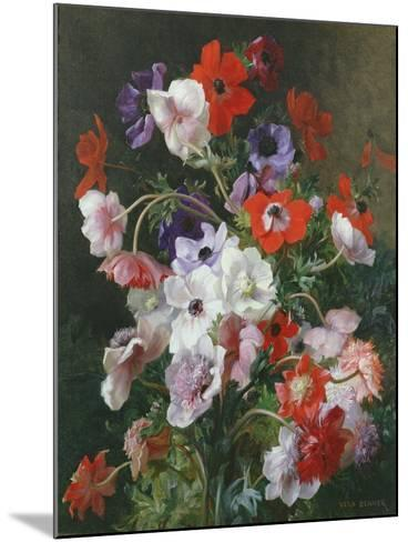 Still Life of Flowers-Jean Benner-Mounted Giclee Print