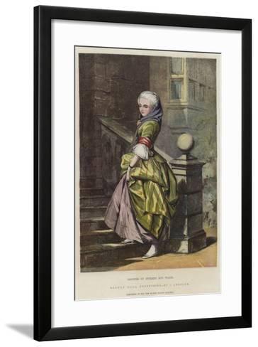 Beauties of England and Wales, Haddon Hall, Derbyshire-John Absolon-Framed Art Print