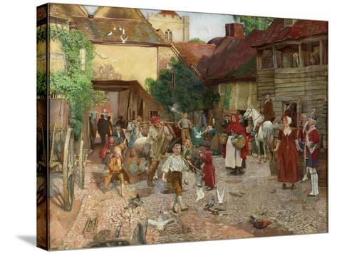 The Fool Who Would Please Every Man, 1903-John Byam Liston Shaw-Stretched Canvas Print