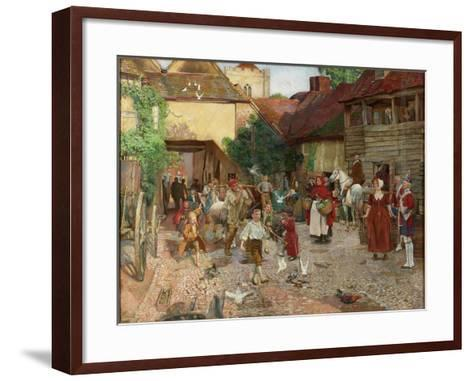 The Fool Who Would Please Every Man, 1903-John Byam Liston Shaw-Framed Art Print