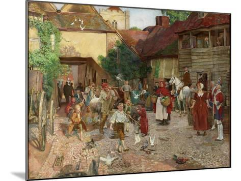 The Fool Who Would Please Every Man, 1903-John Byam Liston Shaw-Mounted Giclee Print