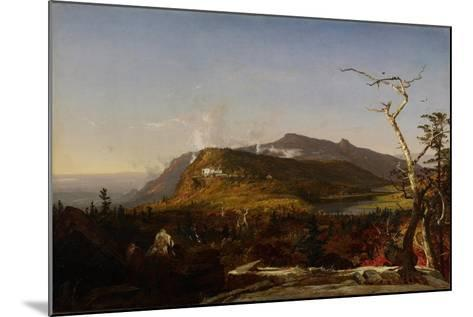 Catskill Mountain House, 1855-Jasper Francis Cropsey-Mounted Giclee Print
