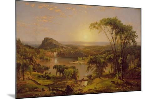 Summer, Lake Ontario, 1857-Jasper Francis Cropsey-Mounted Giclee Print