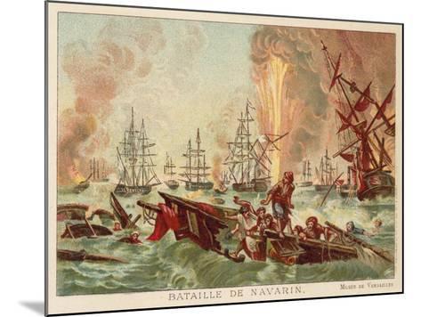 Battle of Navarino, 1827-Jean Charles Langlois-Mounted Giclee Print