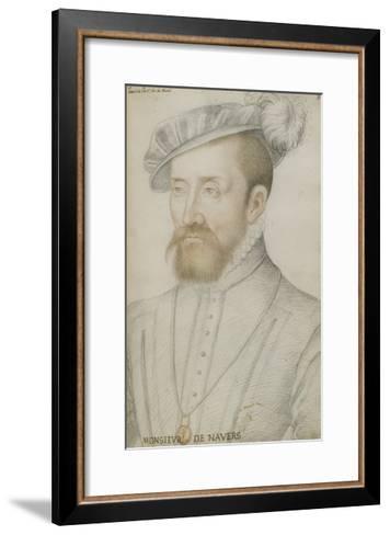 François De Cleves-Jean Clouet-Framed Art Print