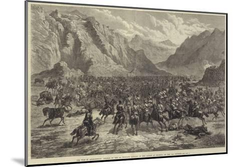 The War in Afghanistan, Charge of the 2nd Punjaub Cavalry in the Action at Shahjui, on 24 October-Johann Nepomuk Schonberg-Mounted Giclee Print