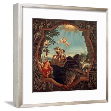 The Rape of Proserpine, 1720-John Alexander-Framed Art Print