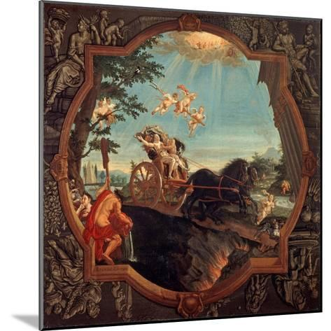 The Rape of Proserpine, 1720-John Alexander-Mounted Giclee Print