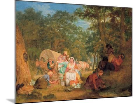 Homeward Bound: Dinner Time, C.1852-John Alexander Gilfillan-Mounted Giclee Print