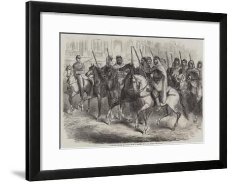 Algerian Spahis in Paris-Jean Adolphe Beauce-Framed Art Print