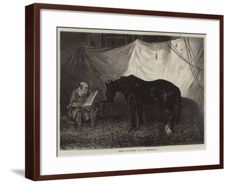Behind the Scenes-John Anster Fitzgerald-Framed Art Print
