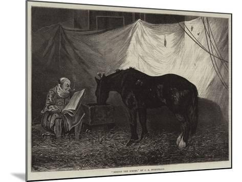 Behind the Scenes-John Anster Fitzgerald-Mounted Giclee Print