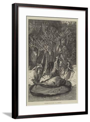 Poor Robin and the Fairies-John Anster Fitzgerald-Framed Art Print