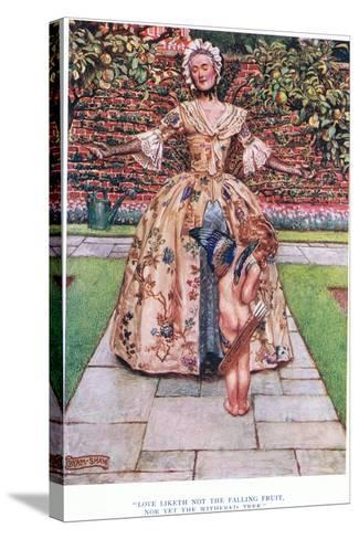 Love Liketh Not the Falling Fruit, Nor Yet the Withered Tree, 1928-John Byam Liston Shaw-Stretched Canvas Print