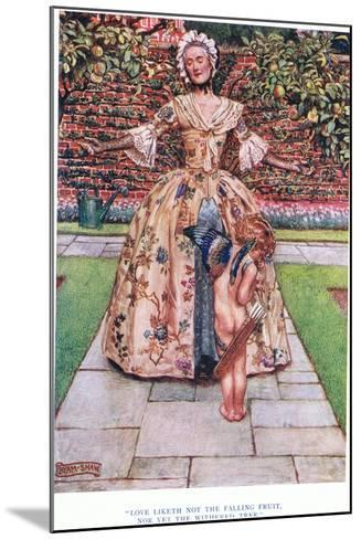 Love Liketh Not the Falling Fruit, Nor Yet the Withered Tree, 1928-John Byam Liston Shaw-Mounted Giclee Print