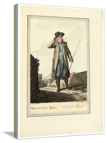 The Coachman; Cocher De Place, 1781 or Later-Johann Christian Brand-Stretched Canvas Print