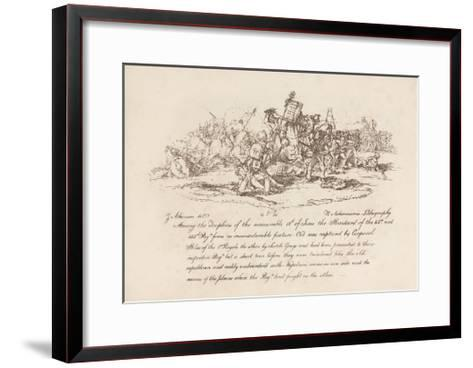 Corporal Stiles of the 1st Royals-John Augustus Atkinson-Framed Art Print