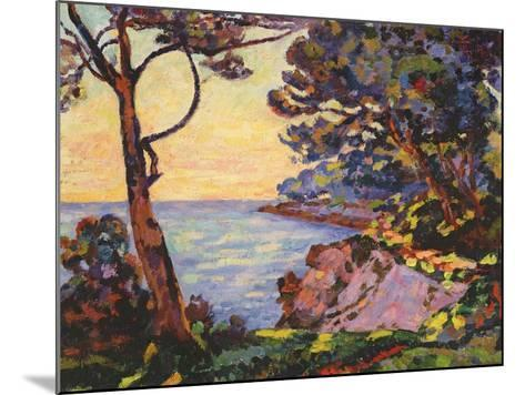 The Coast from L'Esterel, C.1902-Jean Baptiste Armand Guillaumin-Mounted Giclee Print