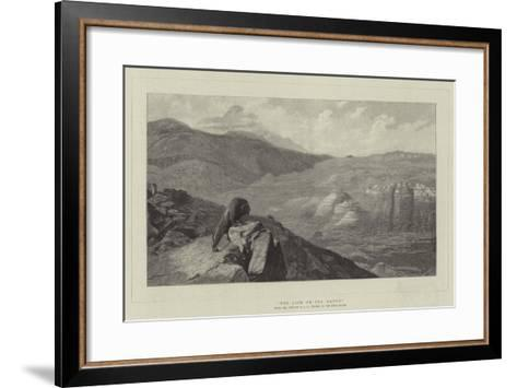The Lion on the Watch-Jean Leon Gerome-Framed Art Print