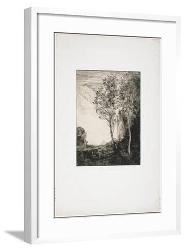 Souvenir D'Italie (A Memory of Italy), 1863-Jean-Baptiste-Camille Corot-Framed Art Print