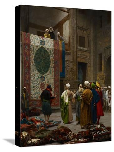 The Carpet Merchant, C.1887-Jean Leon Gerome-Stretched Canvas Print