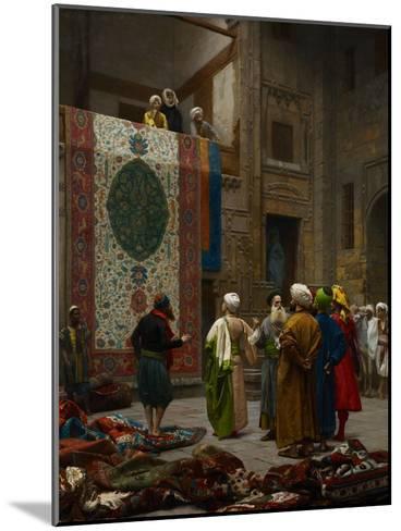 The Carpet Merchant, C.1887-Jean Leon Gerome-Mounted Giclee Print
